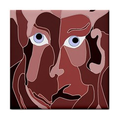 Abstract God Lilac Face Towel