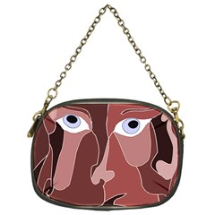 Abstract God Lilac Chain Purse (one Side)