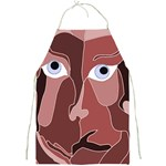 Abstract God Lilac Apron Front