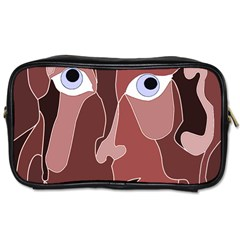 Abstract God Lilac Travel Toiletry Bag (two Sides)