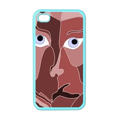 Abstract God Lilac Apple Iphone 4 Case (color)