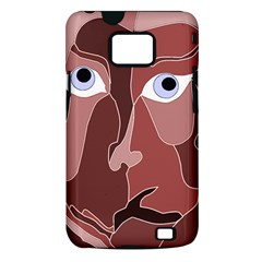 Abstract God Lilac Samsung Galaxy S II i9100 Hardshell Case (PC+Silicone)