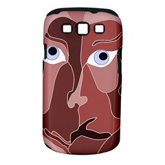 Abstract God Lilac Samsung Galaxy S III Classic Hardshell Case (PC+Silicone)