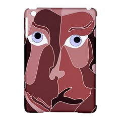 Abstract God Lilac Apple Ipad Mini Hardshell Case (compatible With Smart Cover)