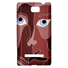 Abstract God Lilac HTC 8S Hardshell Case