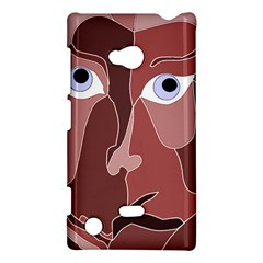 Abstract God Lilac Nokia Lumia 720 Hardshell Case