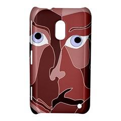 Abstract God Lilac Nokia Lumia 620 Hardshell Case
