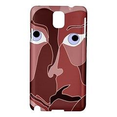 Abstract God Lilac Samsung Galaxy Note 3 N9005 Hardshell Case
