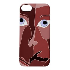 Abstract God Lilac Apple Iphone 5s Hardshell Case