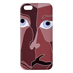 Abstract God Lilac Iphone 5s Premium Hardshell Case