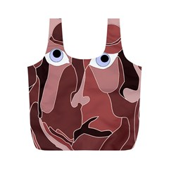 Abstract God Lilac Reusable Bag (m)