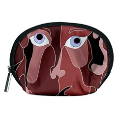 Abstract God Lilac Accessory Pouch (Medium)