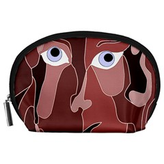 Abstract God Lilac Accessory Pouch (Large)