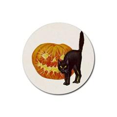 Halloween Vintage Drink Coaster (Round)