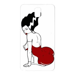 Frankie s Pin Up Samsung Galaxy Note 3 N9005 Hardshell Back Case