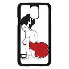 Frankie s Pin Up Samsung Galaxy S5 Case (Black)