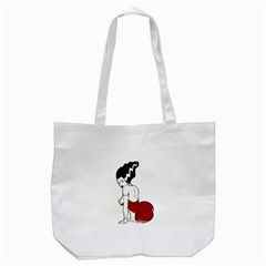 Frankie s Pin Up Tote Bag (White)