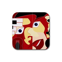 Soul Man Drink Coaster (square)
