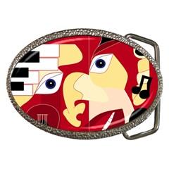 Soul Man Belt Buckle (oval)