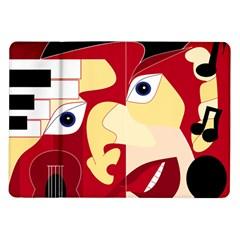 Soul Man Samsung Galaxy Tab 10.1  P7500 Flip Case
