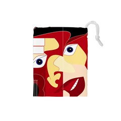 Soul Man Drawstring Pouch (small)