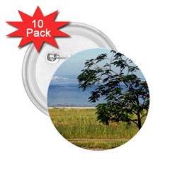 Sea Of Galilee 2.25  Button (10 pack)