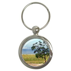 Sea Of Galilee Key Chain (Round)