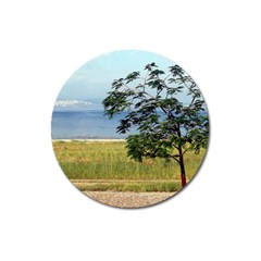 Sea Of Galilee Magnet 3  (round)