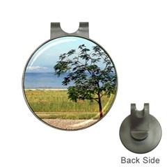 Sea Of Galilee Hat Clip with Golf Ball Marker