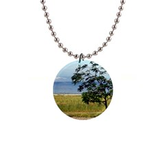 Sea Of Galilee Button Necklace