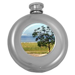 Sea Of Galilee Hip Flask (Round)