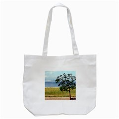 Sea Of Galilee Tote Bag (White)