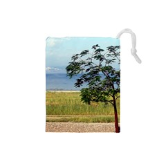 Sea Of Galilee Drawstring Pouch (small)