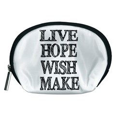 Live Hope Wish Make Accessory Pouch (Medium)