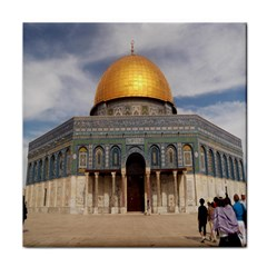 The Dome Of The Rock  Ceramic Tile