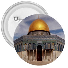 The Dome Of The Rock  3  Button