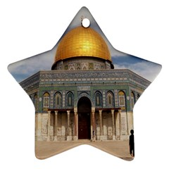 The Dome Of The Rock  Star Ornament