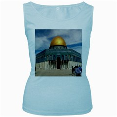 The Dome Of The Rock  Women s Tank Top (Baby Blue)
