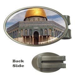The Dome Of The Rock  Money Clip (Oval)