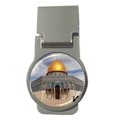The Dome Of The Rock  Money Clip (Round)