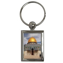 The Dome Of The Rock  Key Chain (rectangle)