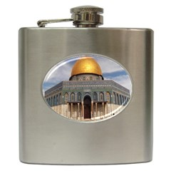 The Dome Of The Rock  Hip Flask