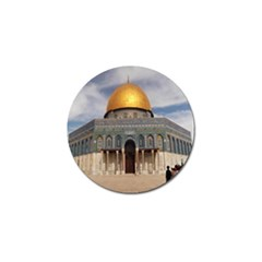 The Dome Of The Rock  Golf Ball Marker