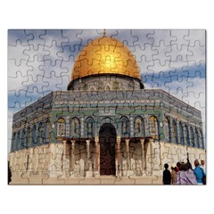 The Dome Of The Rock  Jigsaw Puzzle (rectangle)