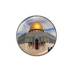 The Dome Of The Rock  Golf Ball Marker (for Hat Clip)