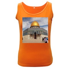 The Dome Of The Rock  Women s Tank Top (dark Colored)