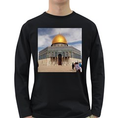 The Dome Of The Rock  Men s Long Sleeve T-shirt (Dark Colored)