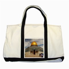 The Dome Of The Rock  Two Toned Tote Bag