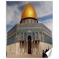 The Dome Of The Rock  Canvas 16  x 20  (Unframed)
