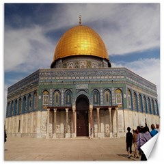 The Dome Of The Rock  Canvas 20  X 20  (unframed)